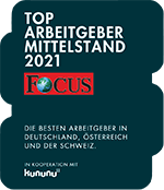 Focus Top Arbeitgeber Mittelstand 2021
